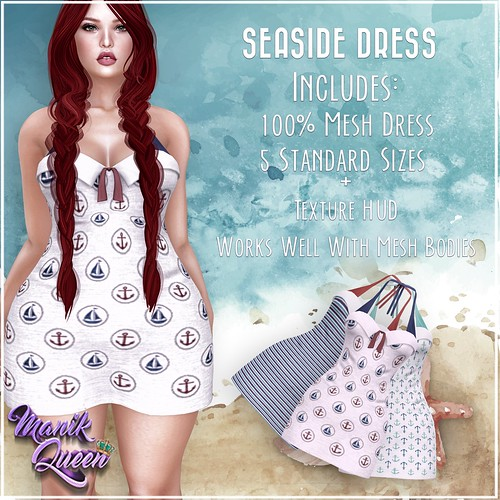 MANIK QUEEN - Seaside Dress