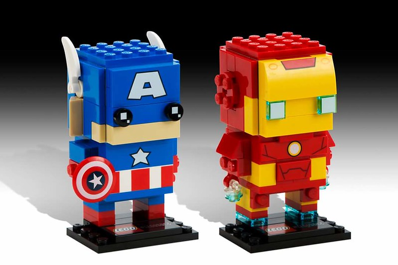 LEGO BrickHeadz: Captain America and Iron Man