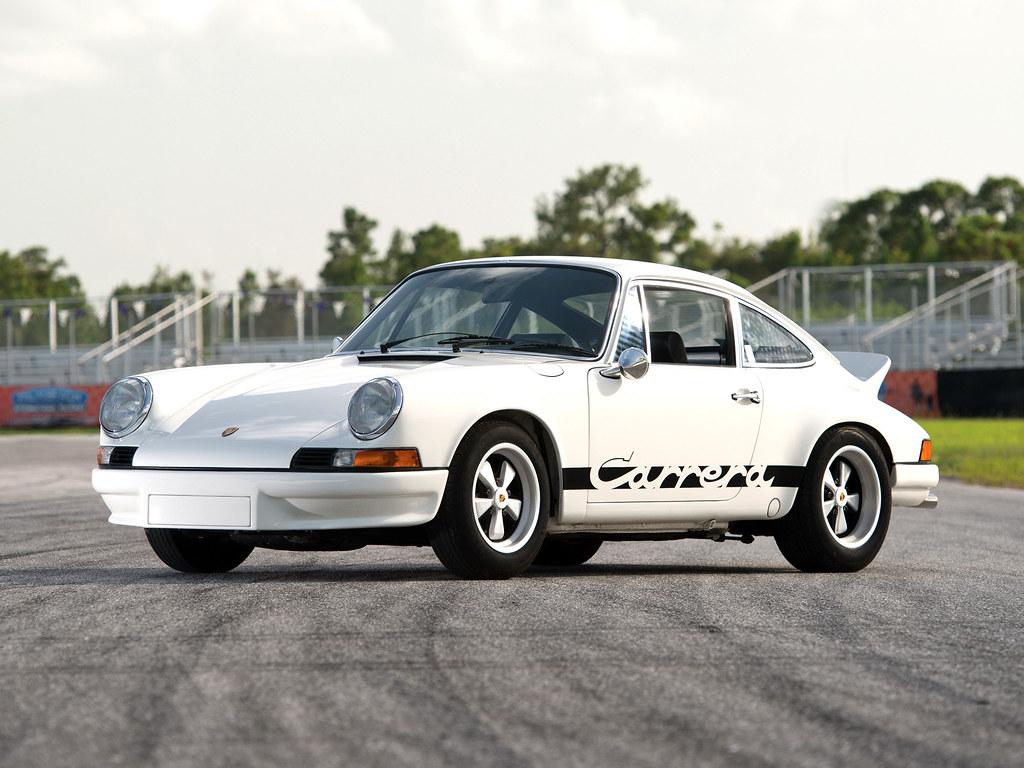Porsche 911 Carrera RS 2.7 Sport (кузов 911). 1972 – 1973 годы