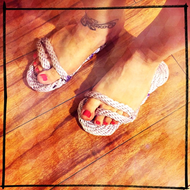 DIY Rope Sandals Fail