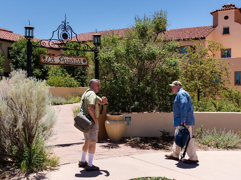 La Posada Hotel Entrance