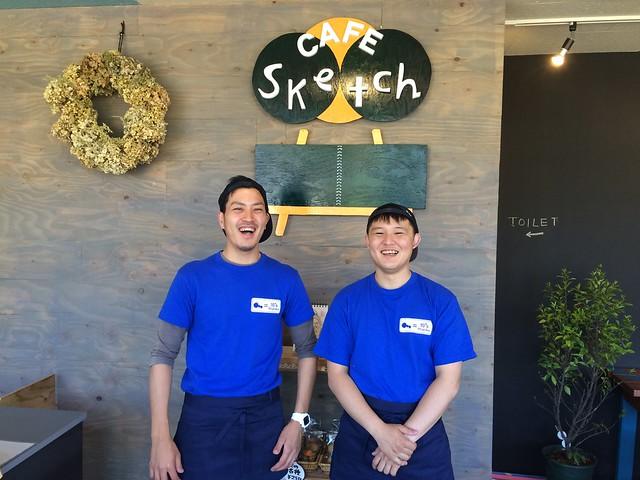 Cafe Sketch in 東京裏山ベース