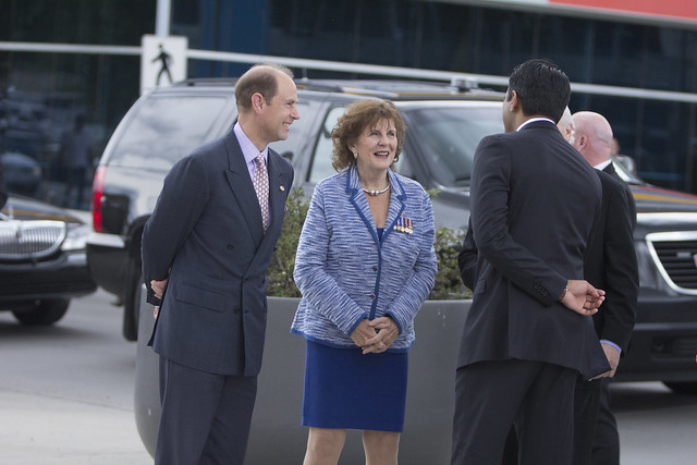 June 24 - HRH Prince Edward in Calgary