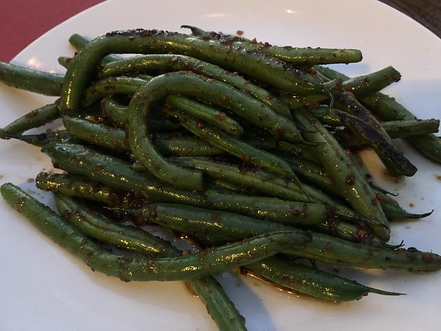 Soy ginger green beans - Chicken Ranch