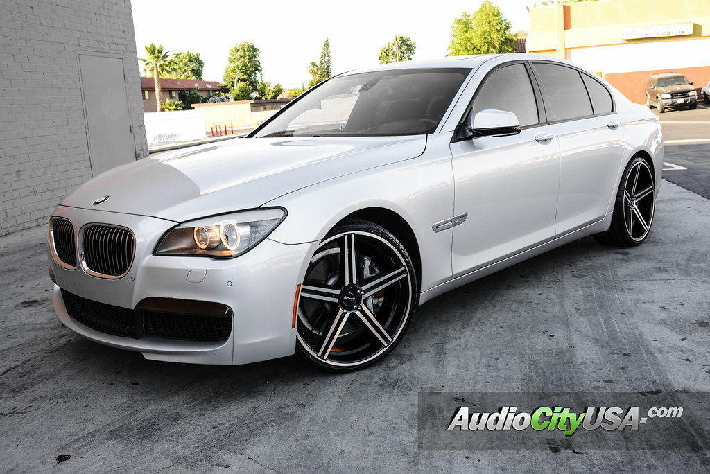 2012 bmw 750 i 22 gianelle wheels by giovanna rims lucca black machine audiocityusa. Black Bedroom Furniture Sets. Home Design Ideas