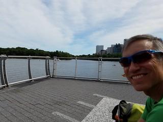 Rudi at the Potomac