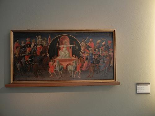 DSCN3301 _ Trionfo della Fama, Trionfo della Tempo, Zanobi di Benedetto di Caroccio degli Strozzi, c 1440-45
