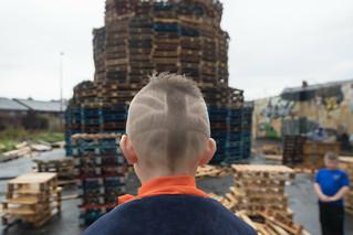 Union Jack Haircut