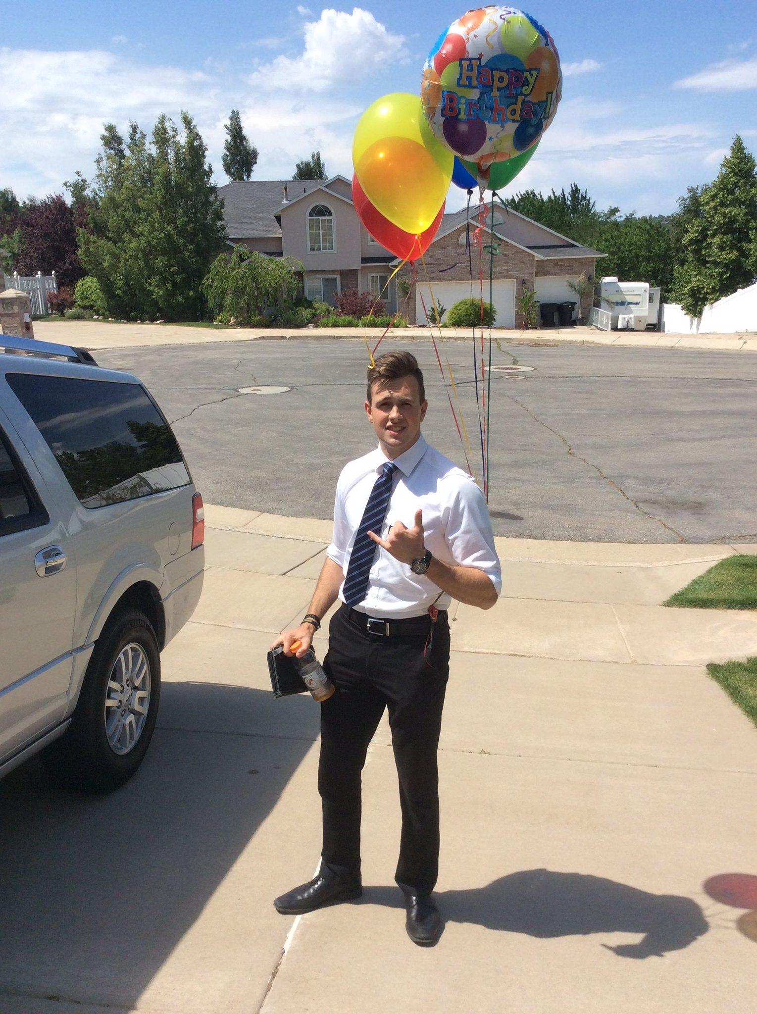Elder Conrad's Birthday