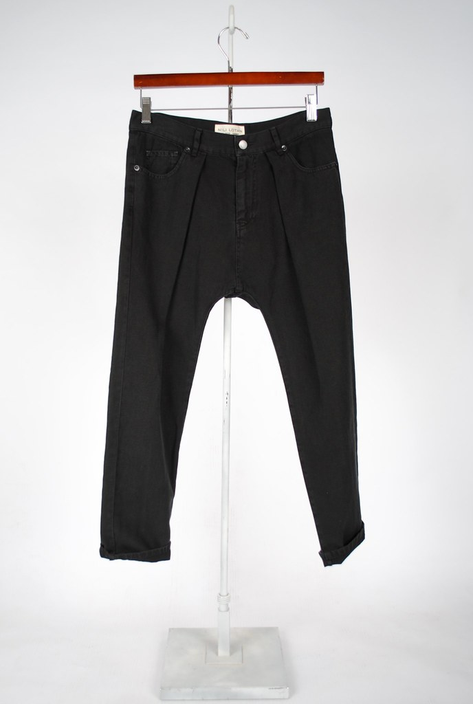 5 Pocket Pleated Pant