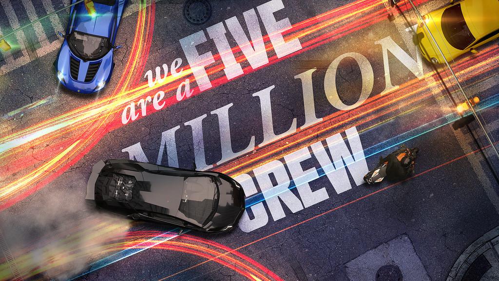 the crew 5 million
