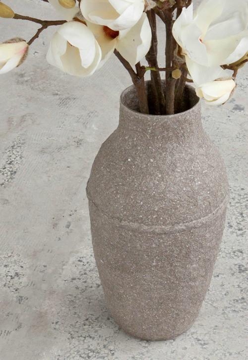 Paperpulp Vase by Debbie Wijskamp