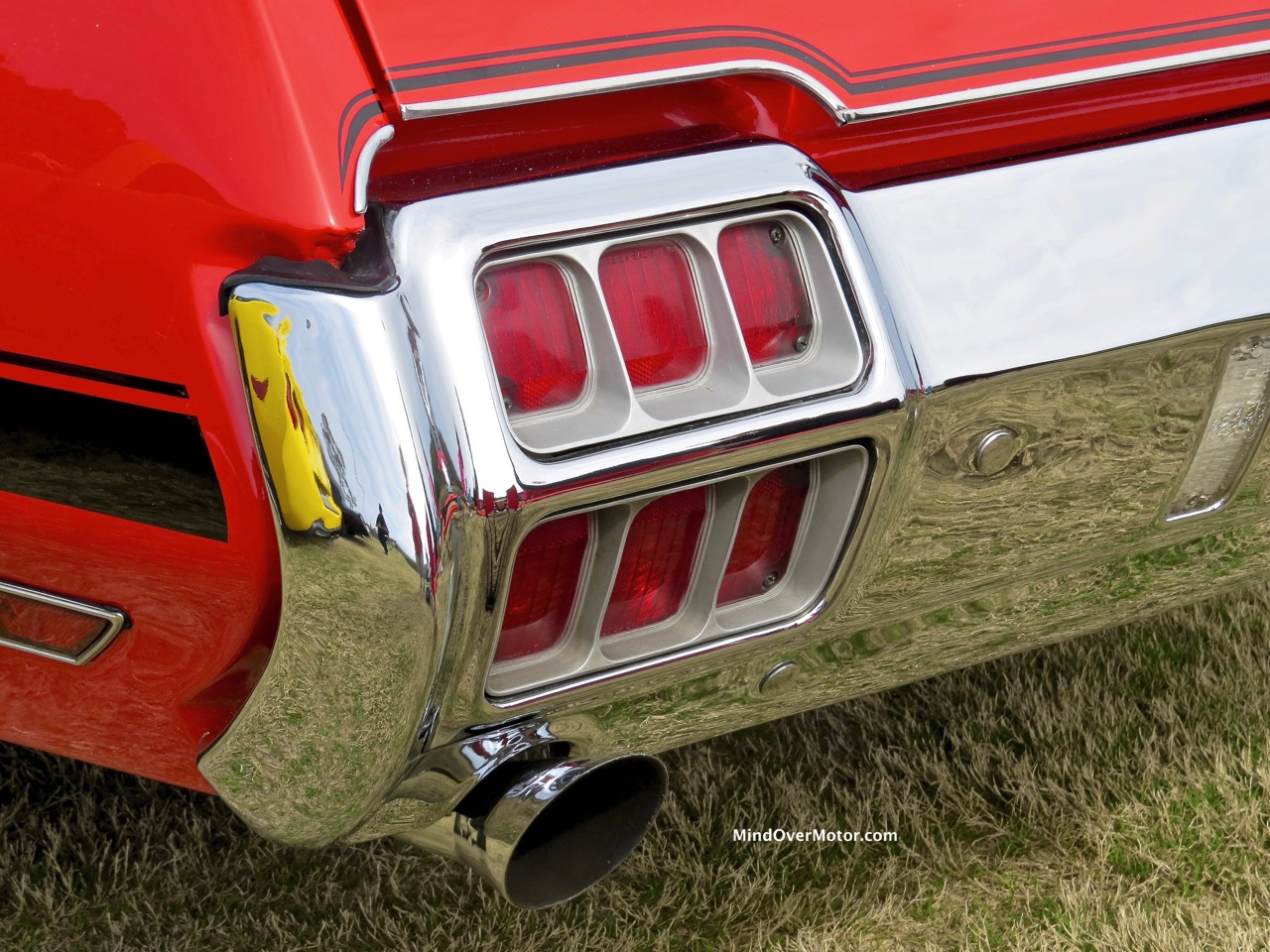 1971 Oldsmobile 442 Taillight