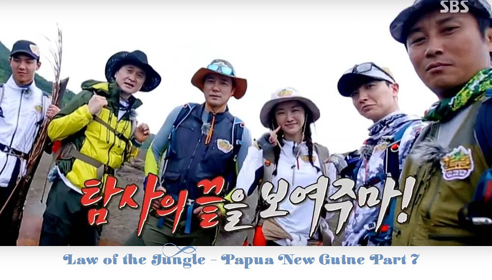 [Vietsub] Law of the Jungle Tập 218