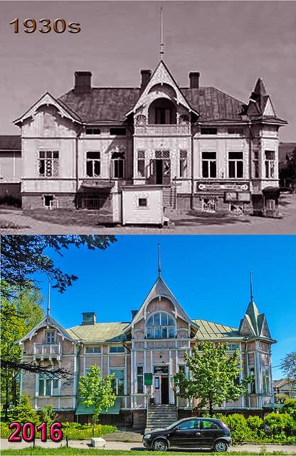1930 Дом приезжего Пяйвеля - 2016 (май) - Сортавальское центральное лесничество (dates)