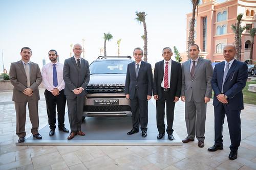 Alfardan Premier Motors Shows Off New Discovery Sport Duri