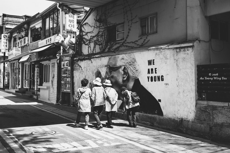 Streets Of Bukchon: Energetic And Healthy Old Ladies!