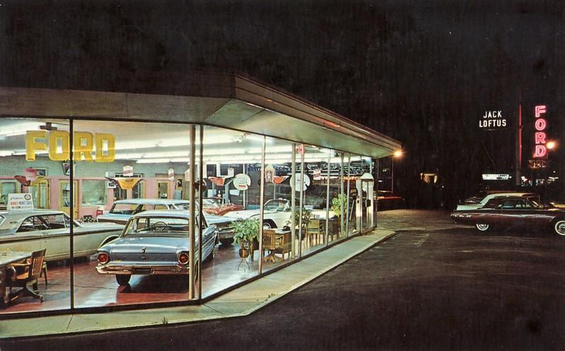 Jack Loftus Ford, Hinsdale IL, 1963