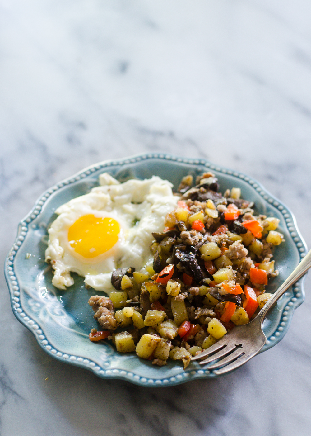 Sausage Breakfast Hash   Buttered Side Up