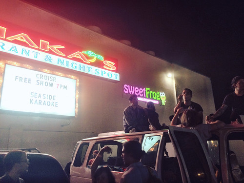 Loitering Outside Shaka's (6-7-15)