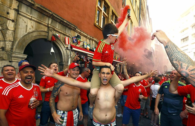 EURO2016 SEMI-FINAL PORTUGAL WALES