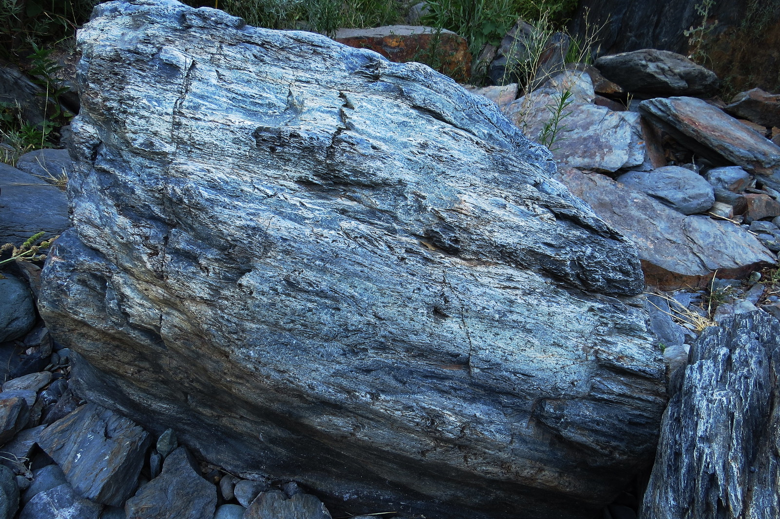 Blue Granite, Merced River, CA