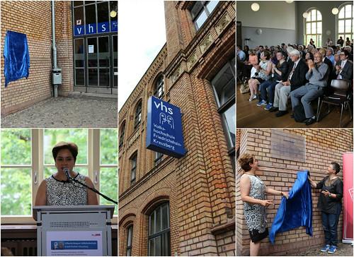 La Volkshochschule de Friedrichshain-Kreuzberg en Berlín recibe el nombre de Gilberto Bosques