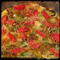 #ZucchiniBlossom #Mushroom #Potato Frittata  #Homemade #CucinaDelloZio -