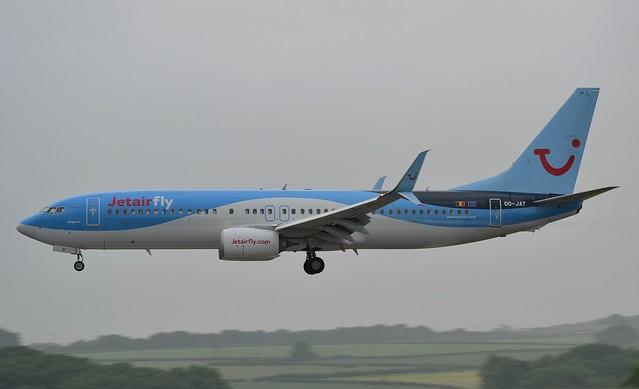 Jetairfly Boeing 737-8K5 40944/4431 OO-JAY