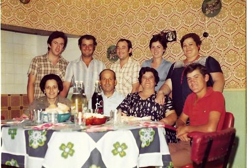 10.En casa de mis tios Emiliano y Pilar. 1976