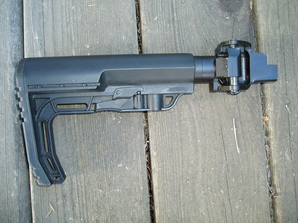 Bonesteel/CNC Warrior AK folding stock with MFT Minimalist