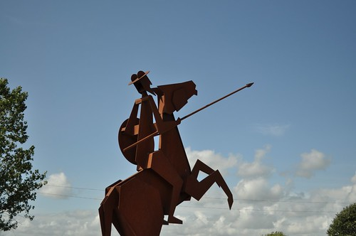Don Quijote at Särdals Kvarn
