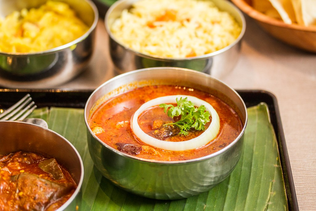Suntec City Restaurants: Muthu's Curry