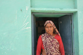 Sheena Vishwakarma played a major role in bringing water to the village.