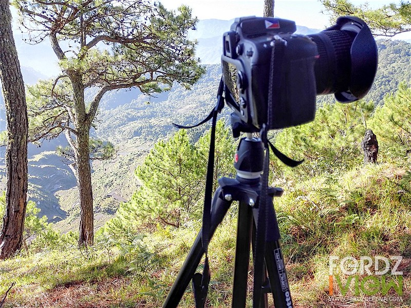 It's easier to bring this tripod up the mountain