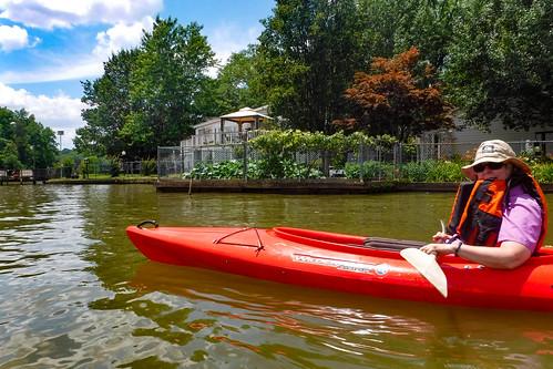 Kayaking and SUP on Saluda Lake-1