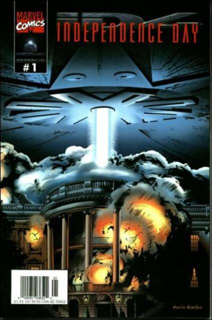 Independence Day - Comics Cover 1