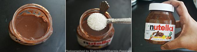 How to make Nutella Milkshake Recipe - Step2