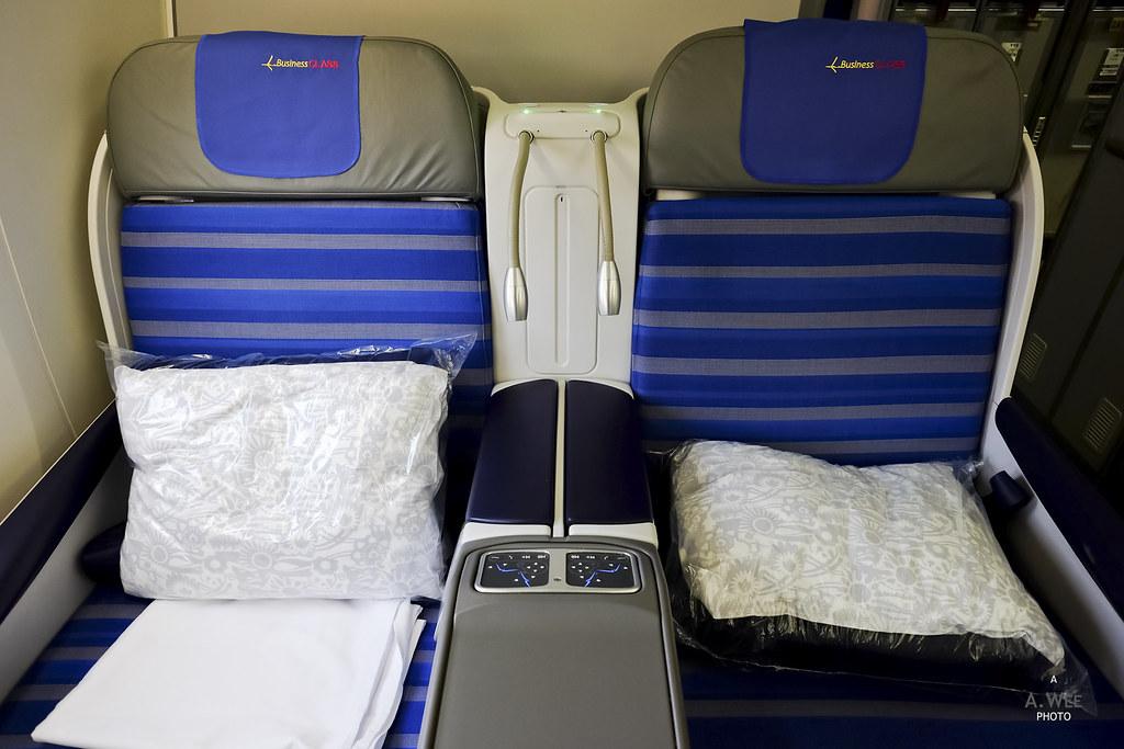 Seat 3E and F