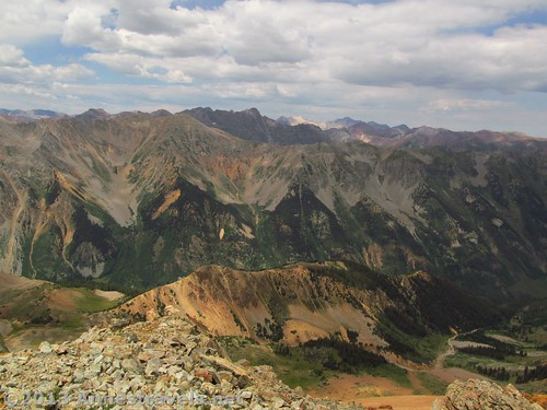 And there are some views that are epic whether the weather is good or not! Electric Pass, Colorado
