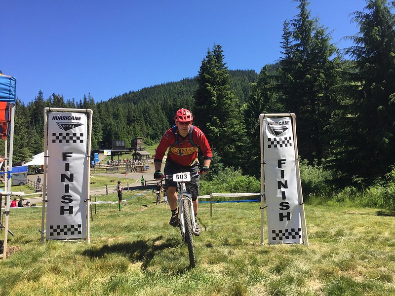 Six Hours of Mt Hood 2016 - Finish