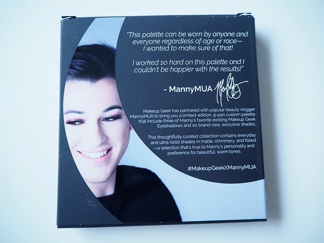 mannymuamakeupgeekP4242533, manny mua, manny mua makeup geek palette, beauty, kauneus, makeup, meikki, luomivärit, eyeshadows, color, väri, shadow, sävy, meikki ostokset, online, shopping, makeup shopping, beauty vlogger, kauneus vloggaaja,