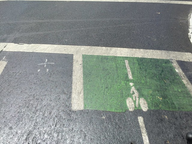 Painted the bike lane WRONG!
