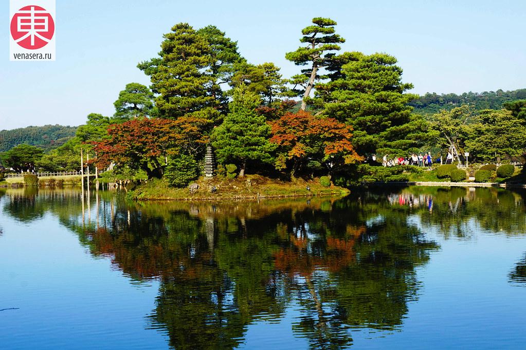 Город Канадзава, Kanazawa, 金沢, Парк Кэнроку-эн, Сад Кэнроку-эн, Сад Шести Достоинств, 兼六園