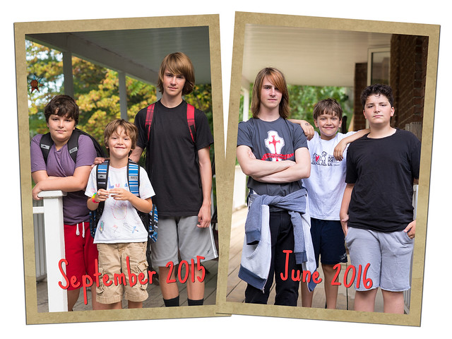 First and last day of school 2015-2016