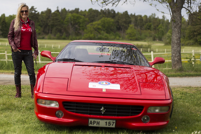 Annika and the Ferrari