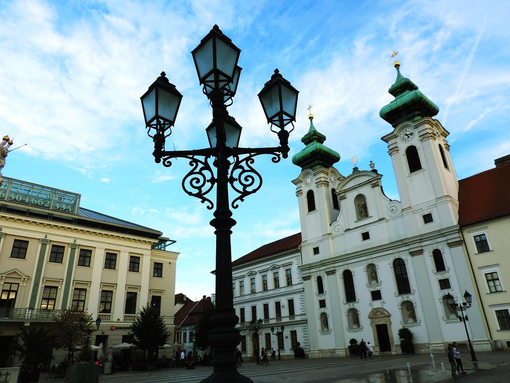 7 Charming Hungarian Cities: Gyor, Hungary