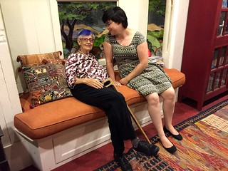 Eleanor and Jessica, WP668 Caboose 100th Birthday Party 25 June 2016