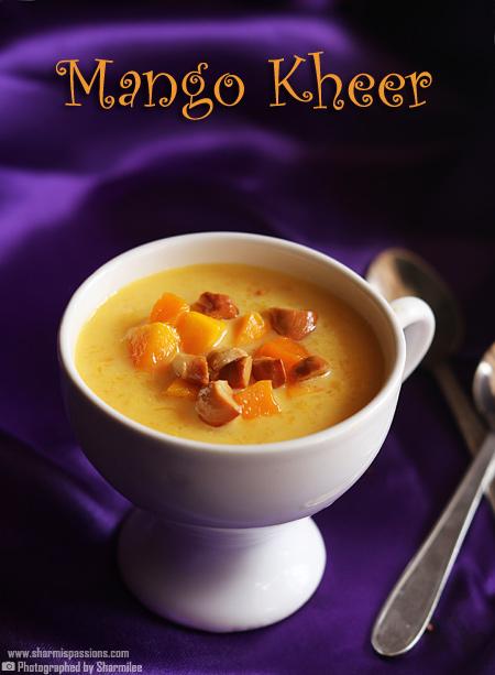 Mango Kheer Recipe