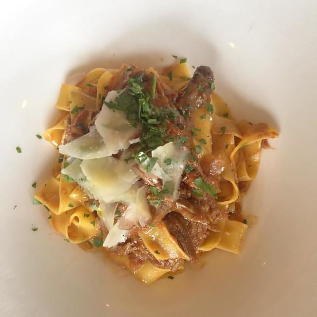 Pappardelle al Ragu L'agnello. #pastalover